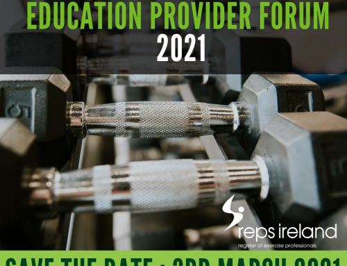 REPs Ireland Education Providers – Save the date